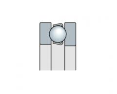 Подшипник шариковый упорный однорядный, дюймовый