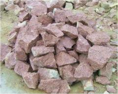 Rubble stone. To buy a rubble stone. Booth's