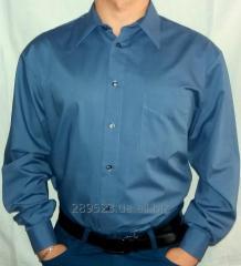 Мужская рубашка с длинным рукавом, бренд