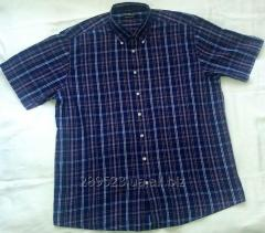 Мужская рубашка с коротким рукавом, бренд