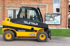 Telescopic loader of JCB TLT35D