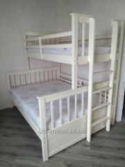 Двухъярусная деревянная кровать Магелан