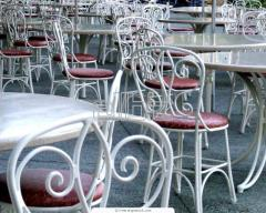 Кованные стулья, столы, камины, ворота, под заказ