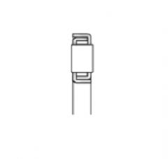 Подшипники роликовые упорные однорядные без опорных колец, дюймовые