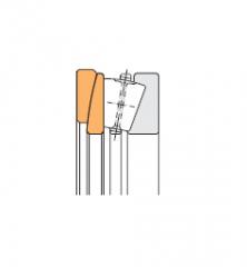 Подшипники роликовые упорные однорядные с коническими роликами и со сферическим подкладным кольцом, дюймовые