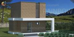 Энергоэффективный дом Пей, 49м²