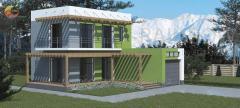 Энергоэффективный дом Хадид, 86м²