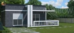 Энергоэффективный дом  Фостер,  63м²
