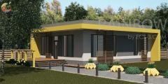 Энергоэффективный дом Гери,  86м²
