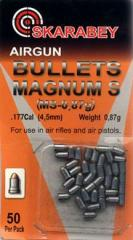 Bullets the Scarab of Magnum S 0,87g 4,5mm 50 of