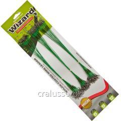 Поводок ET Wizard 6-9-12 kg 22,5см Зелёный (72шт/блистер)