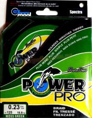 Cord of Power Pro 0,23mm 125 of m 18,8kg Green