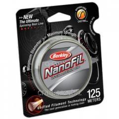Шнур Berkley Nanofil Clear 125м 0.02 прозрачный