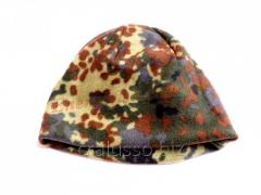 Cap fleece double flektarn