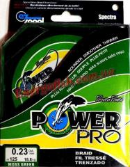 Cord of Power Pro 0,28mm 125 of m 24,5kg Green