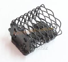 Кормушка Feeder 35g прямоугольная черная закрытое дно