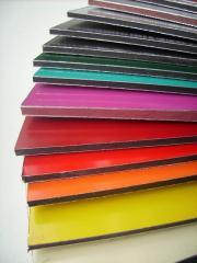 Composite, aluminum composite panels