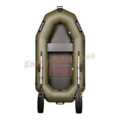 Лодка Bark B-220С одноместная гребная, настил, комплект
