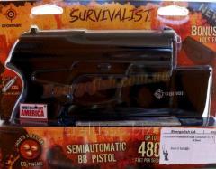Gun of pnevmatichniya Crosman C-11 z holster 4.5mm