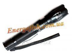 Фонарик Police зарядка 12v+220v CREE 80000W(Li-ion 8800mAh 3.7V)