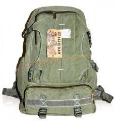 Рюкзак 70L. Зеленый Хаки.