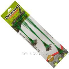Поводок ET Wizard 15-22,5-30см 9кг Зелёный (72шт/блистер)