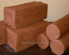 Гончарная глина, красная глина для поделок