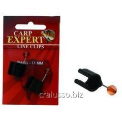 Клипса Carp Expert для лески Line Clips 14мм