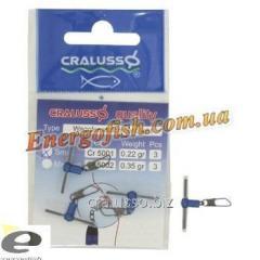 Карабин поплавочный прямой Cralusso Waggler attachment M(2005) 3шт