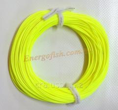 Шнур нахлыстовый WT-8F 30m (100ft) yellow