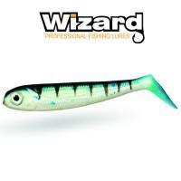 Силиконовая приманка Wizard Super Minnow 9см Perch 2шт/уп