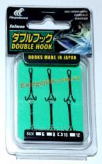 Двойник Hayabusa Double Hook №10 (6шт) паяный
