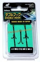 Двойник Hayabusa Double Hook №8 (5шт) паяный
