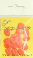 Bait silicone Mad Carp Corn red