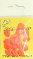 Bait silicone Mad Carp Corn red