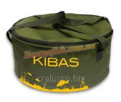 Ведро для прикормки Kibas c крышкой 40x20см
