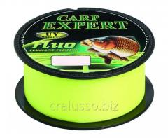 Scaffold of Carp Expert UV Fluo yellow 0,20mm 300