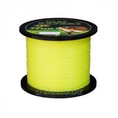 Scaffold of Carp Expert UV Fluo yellow 0,25mm 1000