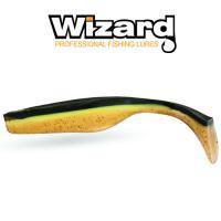 Силиконовая приманка Wizard Magnet 15см Golden Shad 2шт/уп