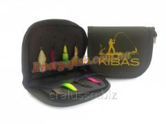 Kibas purse for spinners green L 19kh11kh2sm