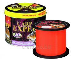 Scaffold of Carp Expert UV Fluo Orang 0,25mm 1000