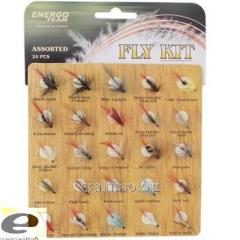 Набор мушек ET Fly Set 25шт