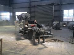 Mechanical krivoshipny press of the WORLD brand
