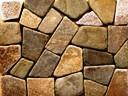 Кирпич литос фагот керамический, камень песчаник