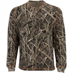 T-shirt hunting on buttons of Mossy Oak...