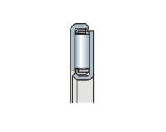 Подшипник игольчатый упорный с опорным кольцом из штампованной стали