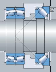 Пример конструкции подшипникового узла с...