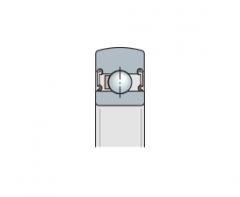 Подшипники - направляющие опорные ролики шариковые однорядные