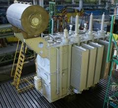 Трехфазный силовой трансформатор типа ТДН, ТРДН 110кВ