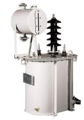 Однофазный силовой трансформатор типа ОМ, ОМЖ 27,5-35кВ